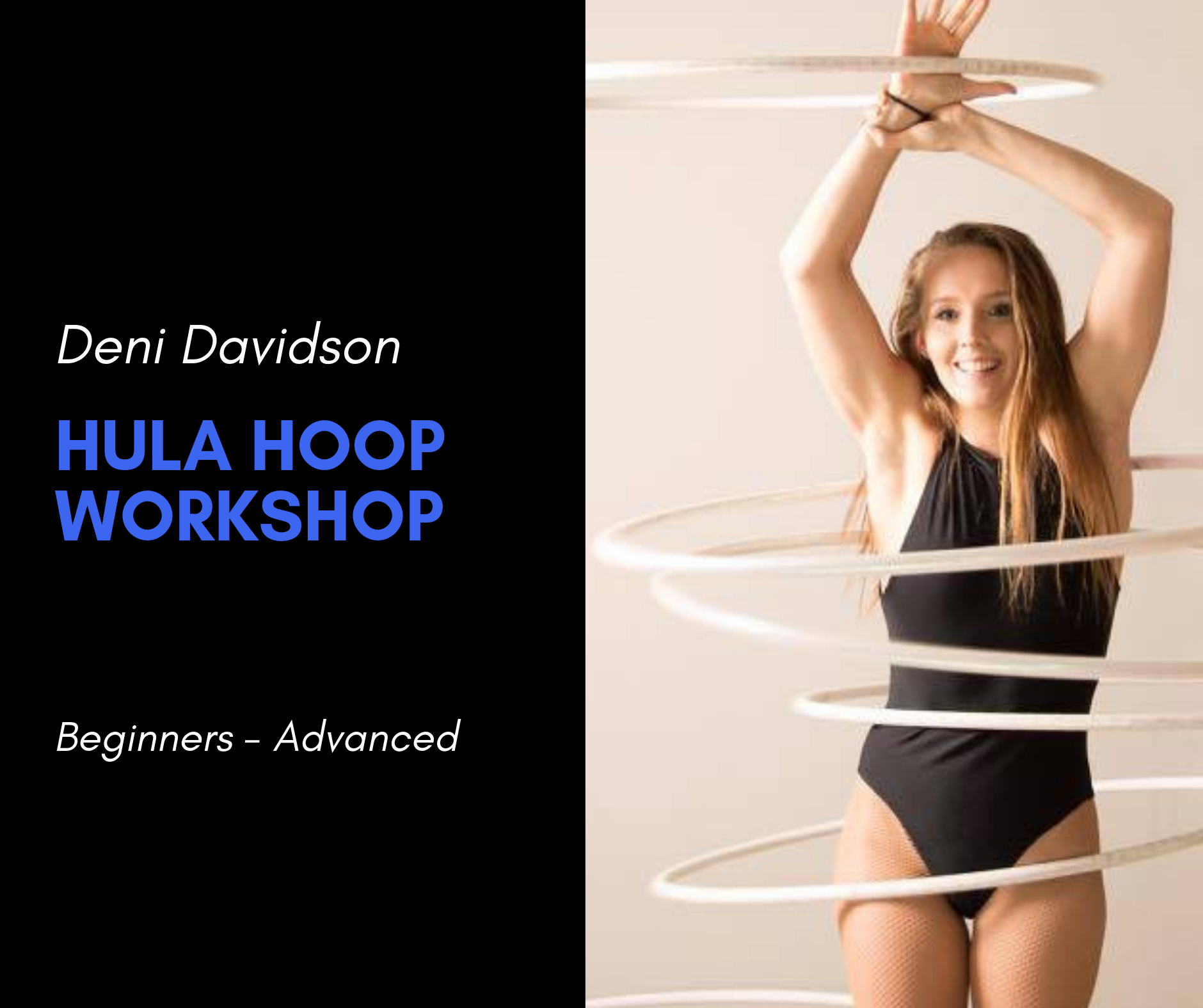 Deni Davidson Hula Hooping Workshop