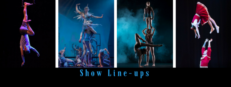 Line Up Artists Circus Circo Cirque ACF AUSCIRCUSFEST