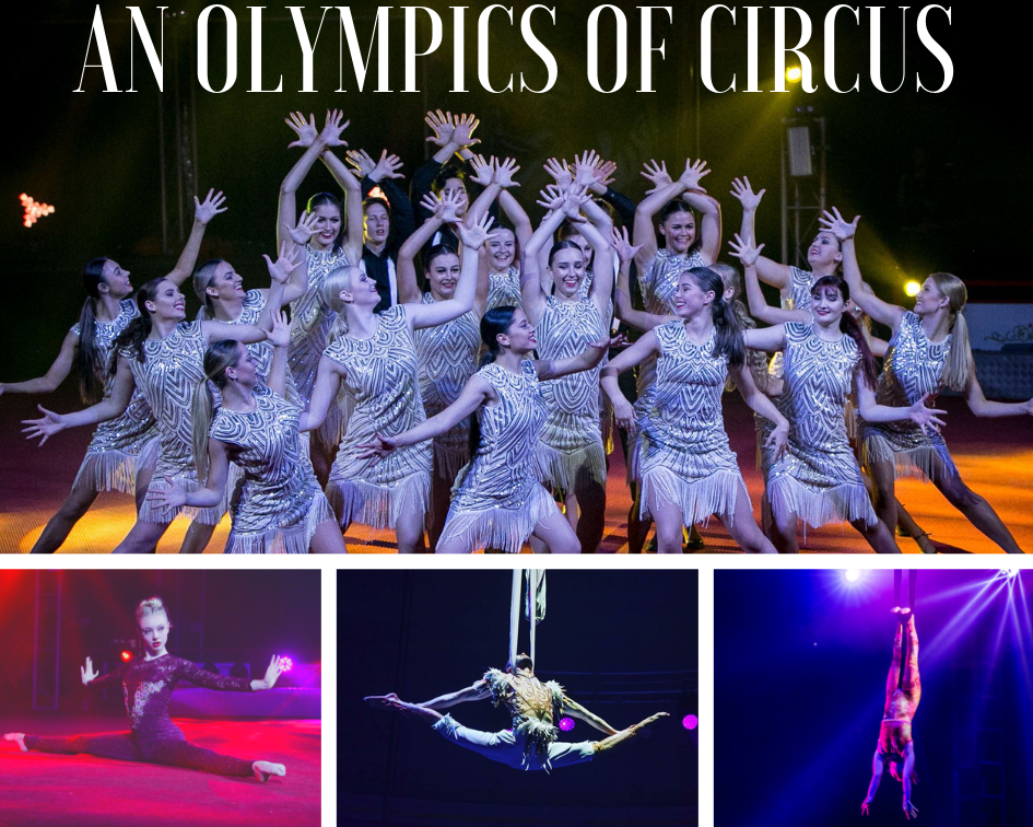 Circus olympics competition celebration shows