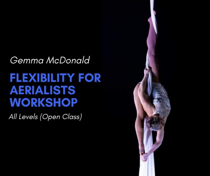 Gemma Stretching Class for Aerialists Workshop