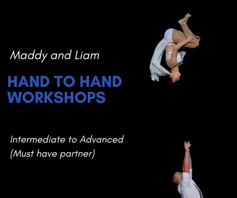 Maddy and Liam Hand to Hand Workshop