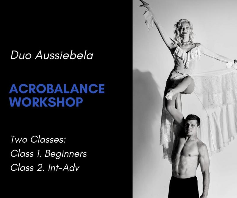 Duo Aussibela Acrobalance Workshop Adagio