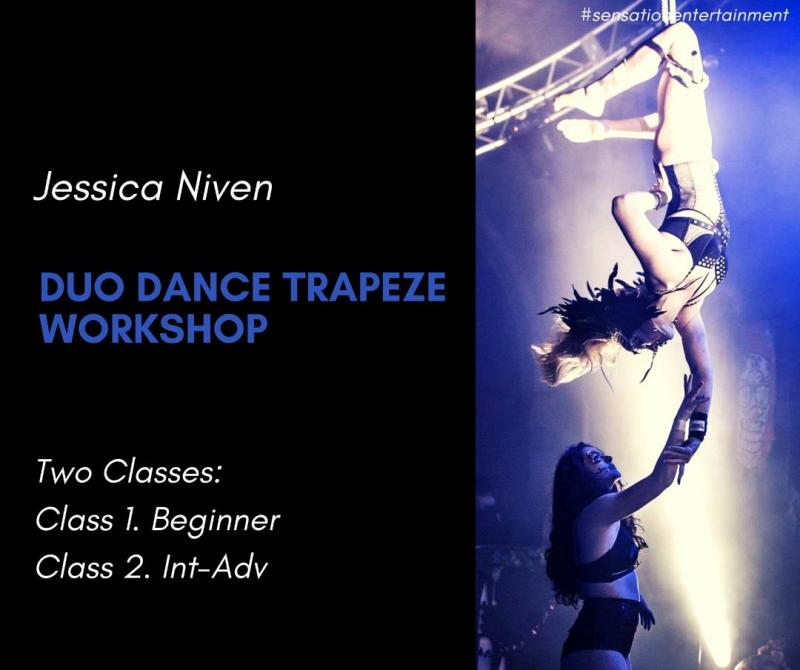 Jessica Niven Duo Dance Trapeze Workshop